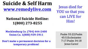 suicide card