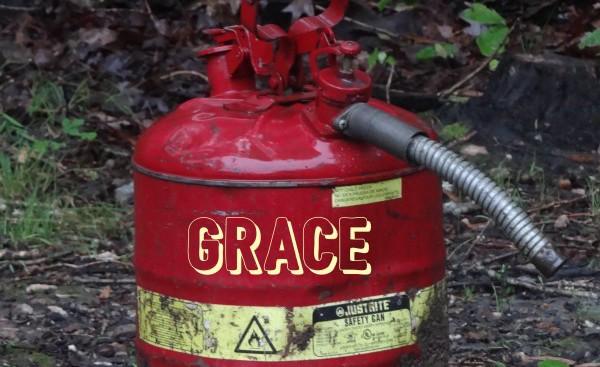 Burning Up Grace